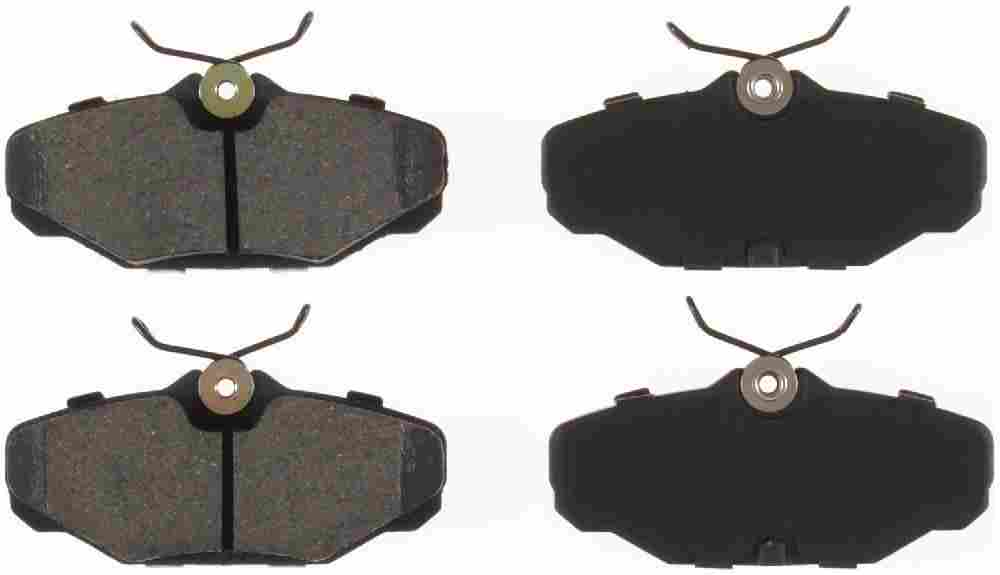 BENDIX - Bendix CQ Disc Brake Pad (Rear) - BEN D610