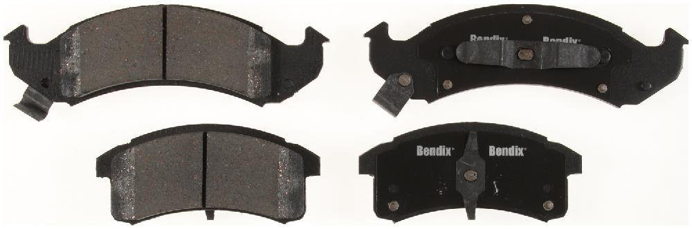 BENDIX - Bendix CT-3 Disc Brake Pad (Front) - BEN D623CT
