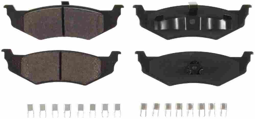 BENDIX - Bendix CQ Disc Brake Pad (Rear) - BEN D658