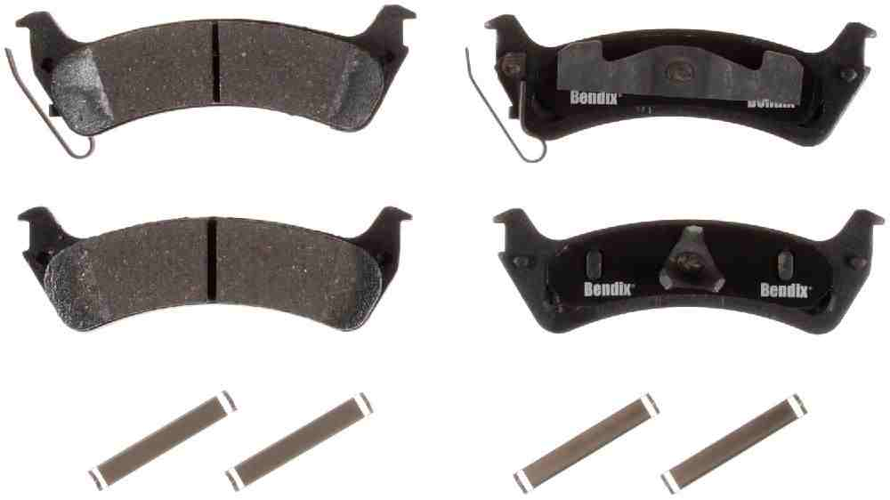 BENDIX - Bendix CT-3 Disc Brake Pad (Rear) - BEN D664CT