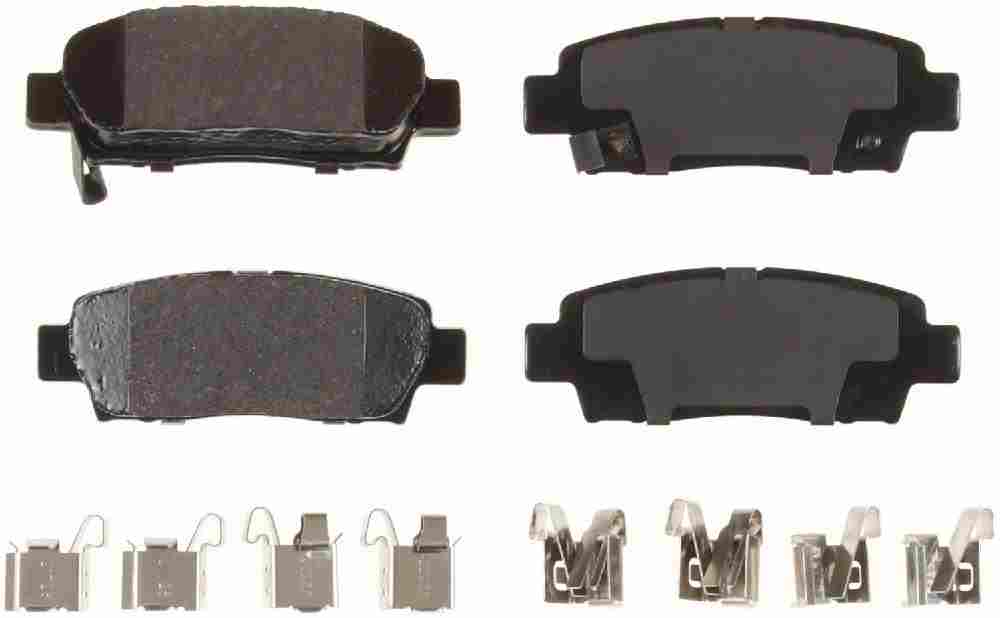 BENDIX - Bendix CQ Disc Brake Pad (Rear) - BEN D672