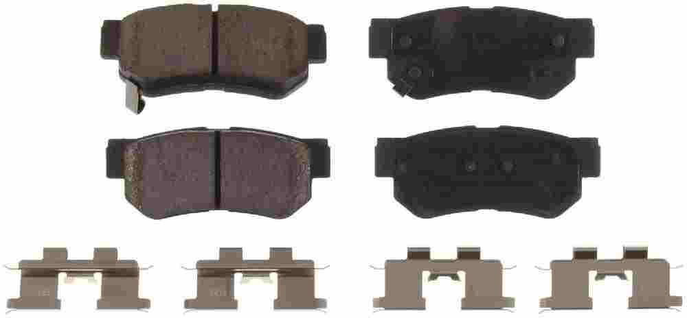 BENDIX - Bendix CT-3 Disc Brake Pad (Rear) - BEN D813CT