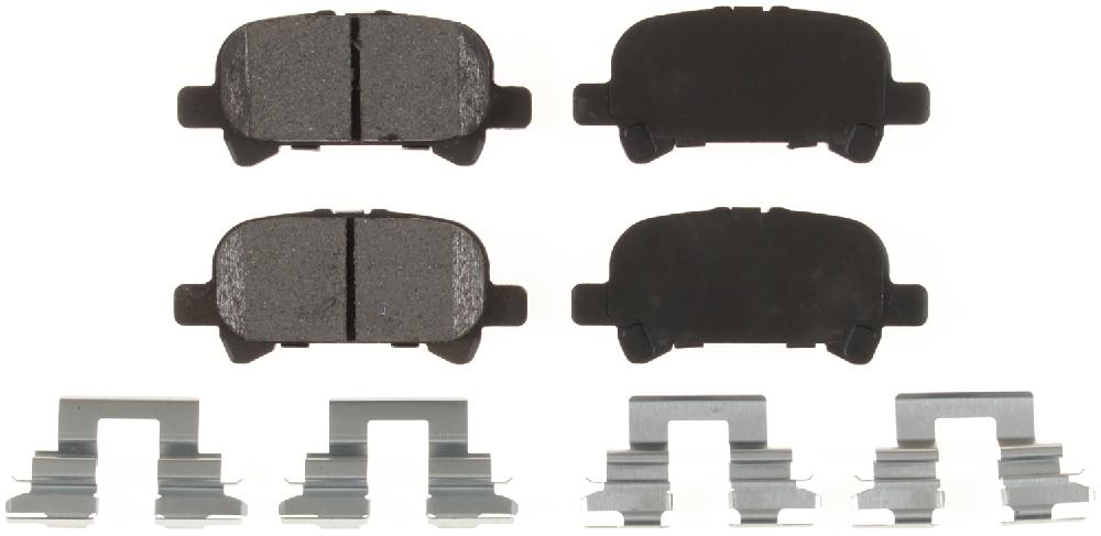BENDIX - Bendix CQ Disc Brake Pad (Rear) - BEN D828