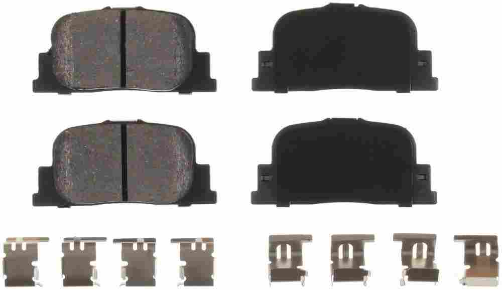 BENDIX - Bendix CQ Disc Brake Pad (Rear) - BEN D835