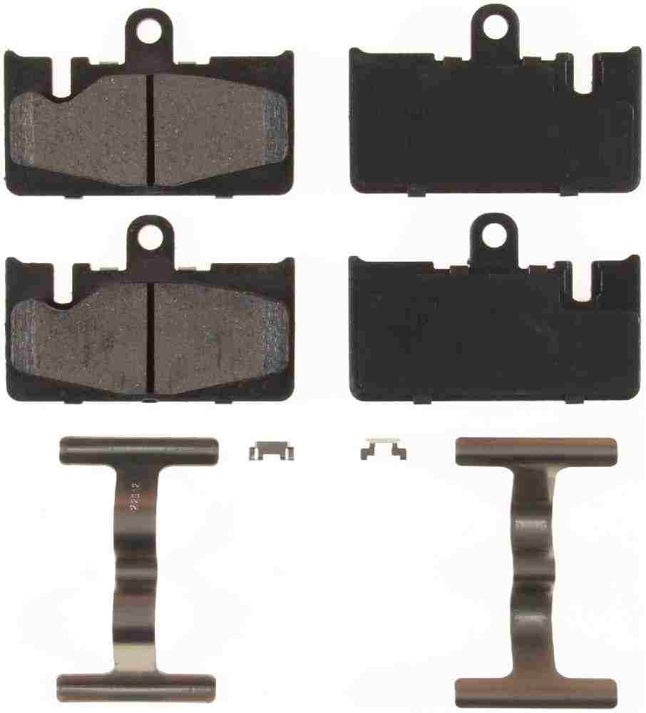 BENDIX - Bendix CQ Disc Brake Pad (Rear) - BEN D871