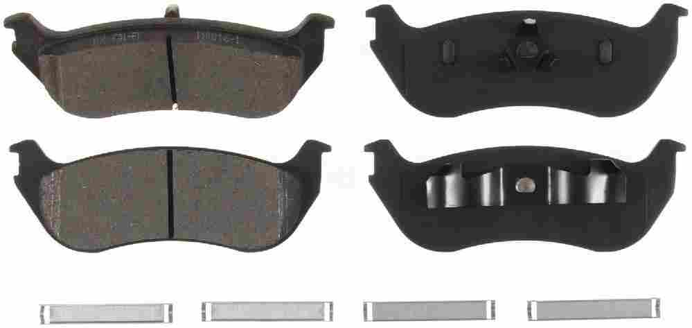 BENDIX - Bendix CQ Disc Brake Pad (Rear) - BEN D881