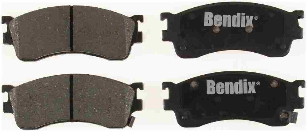 BENDIX - Bendix CT-3 Disc Brake Pad (Front) - BEN D893CT