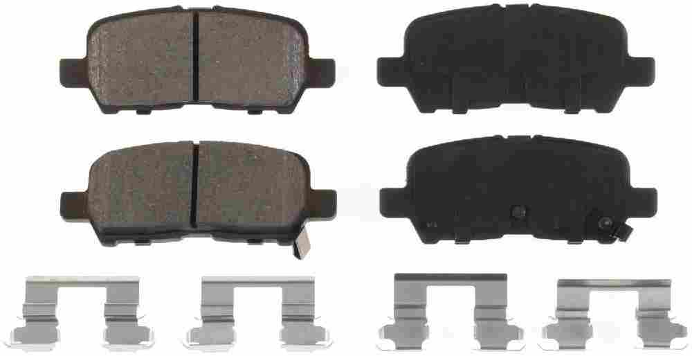 BENDIX - Bendix CQ Disc Brake Pad (Rear) - BEN D999