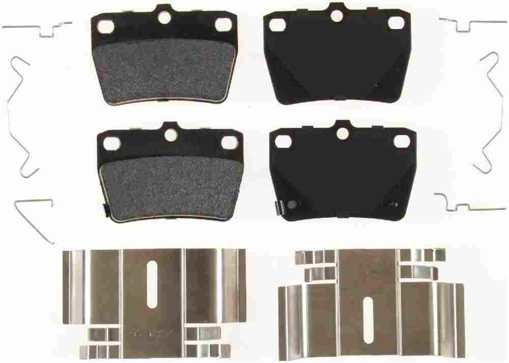BENDIX - Bendix Semi-Metallic Disc Brake Pad (Rear) - BEN MKD1051