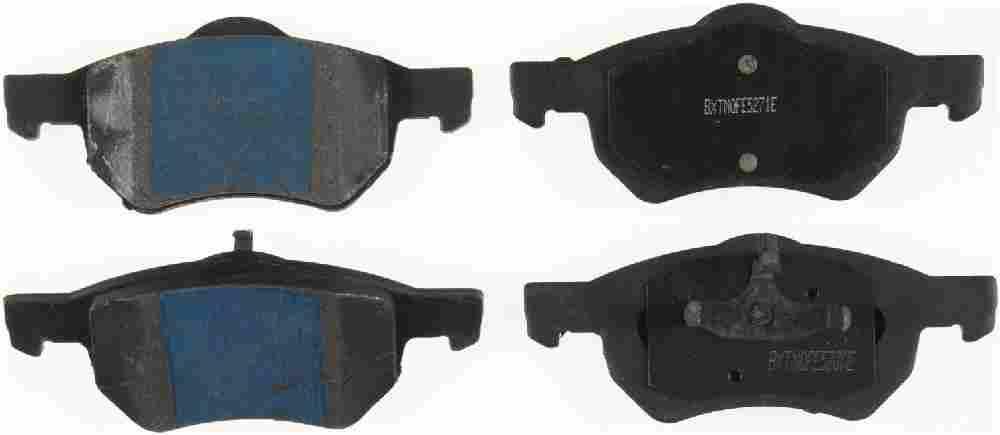 BENDIX - Semi-Metallic Disc Brake Pad - BEN MKD1059