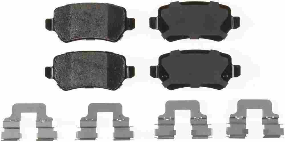 BENDIX - Bendix Semi-Metallic Disc Brake Pad (Rear) - BEN MKD1362