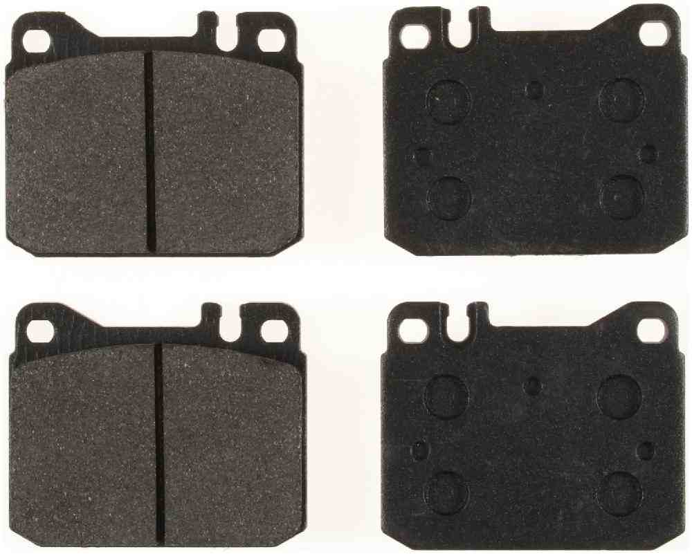 BENDIX - Bendix Semi-Metallic Disc Brake Pad (Front) - BEN MKD145