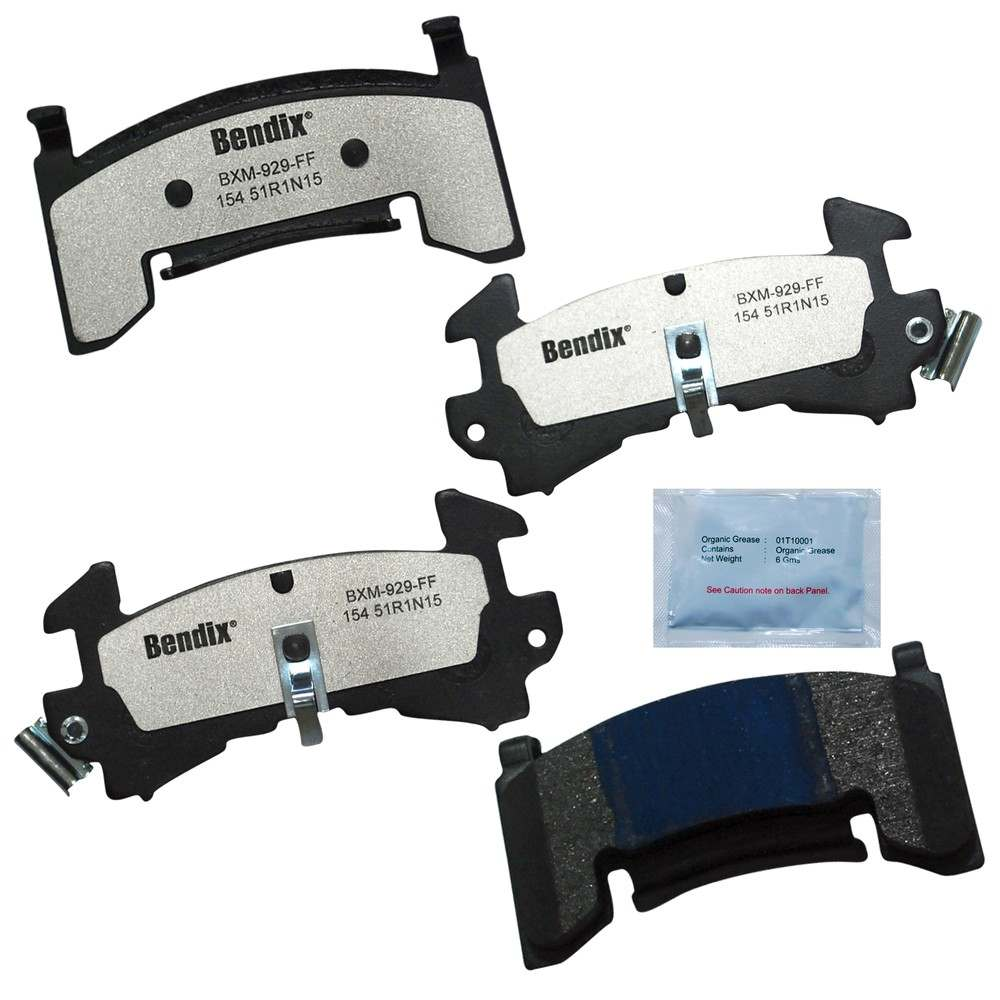 BENDIX - Fleet MetLok Disc Brake Pad - BEN MKD154FM