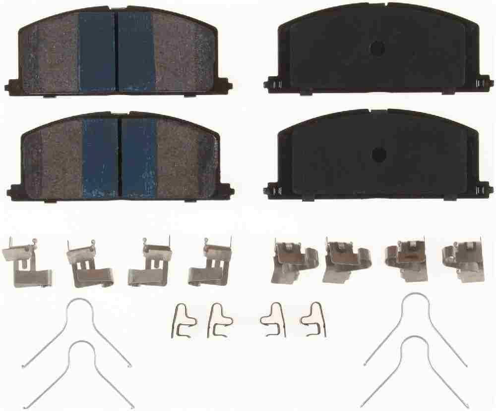 BENDIX - Premium Semi-Metallic Disc Brake Pad (Front) - BEN MKD242IQ