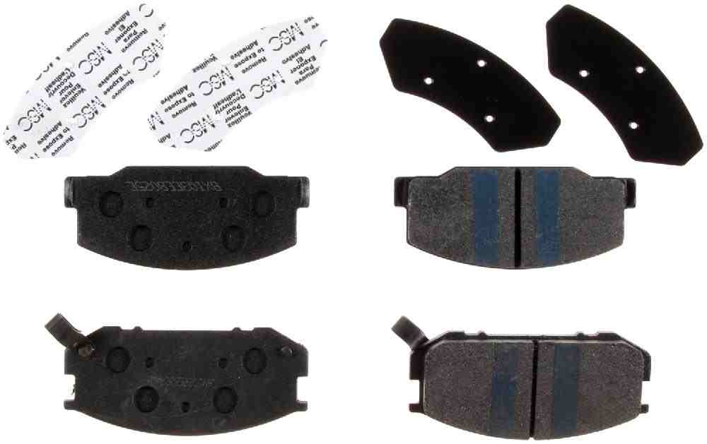 BENDIX - Premium Semi-Metallic Disc Brake Pad (Front) - BEN MKD245IQ