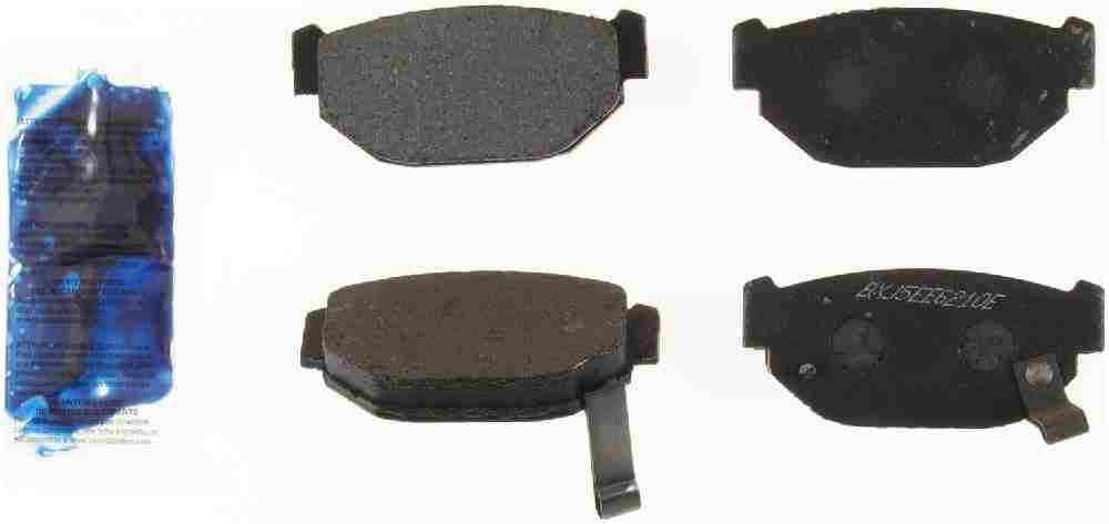 BENDIX - Bendix Semi-Metallic Disc Brake Pad (Rear) - BEN MKD314