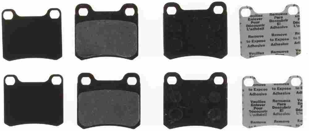 BENDIX - Premium Semi-Metallic Disc Brake Pad (Rear) - BEN MKD335IQ