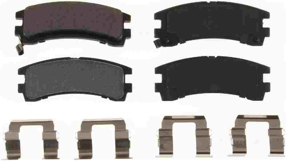 BENDIX - Bendix Semi-Metallic Disc Brake Pad (Rear) - BEN MKD401
