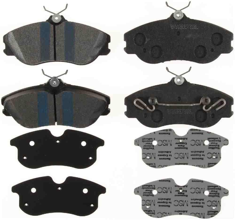 BENDIX - Premium Semi-Metallic Disc Brake Pad (Front) - BEN MKD419IQ