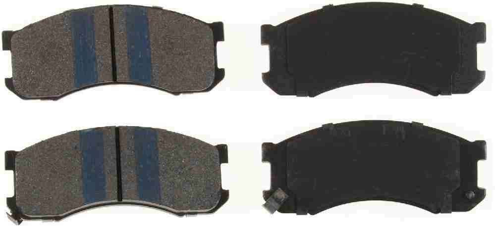 BENDIX - Premium Semi-Metallic Disc Brake Pad (Front) - BEN MKD428IQ