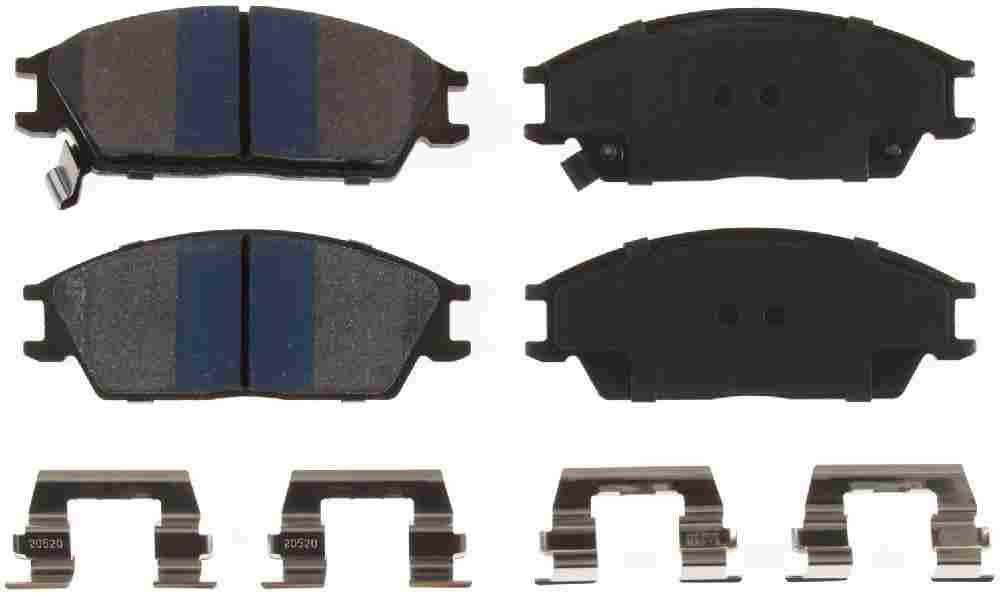 BENDIX - Premium Semi-Metallic Disc Brake Pad (Front) - BEN MKD440IQ