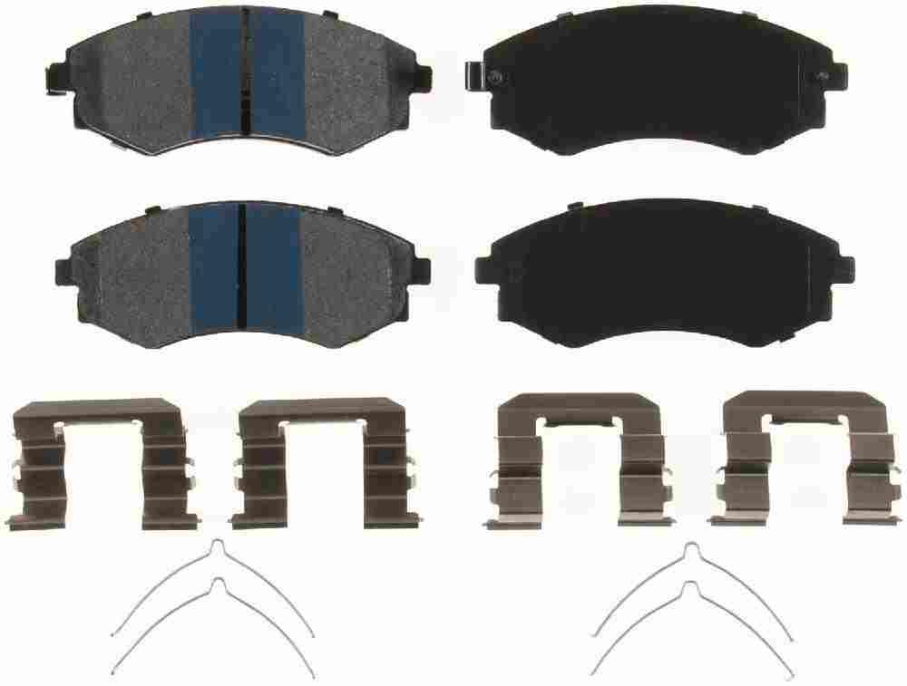 BENDIX - Premium Semi-Metallic Disc Brake Pad (Front) - BEN MKD449IQ