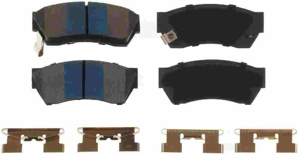 BENDIX - Premium Semi-Metallic Disc Brake Pad (Front) - BEN MKD451IQ