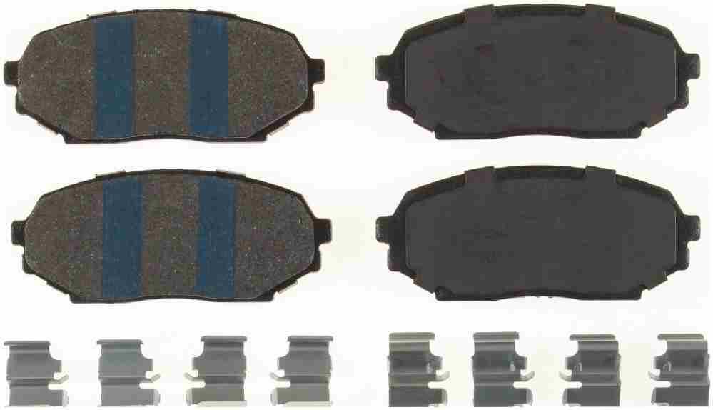 BENDIX - Premium Semi-Metallic Disc Brake Pad (Front) - BEN MKD468IQ