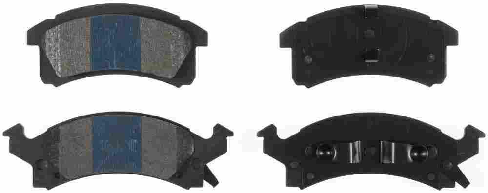 BENDIX - Bendix TitaniuMetallic II Disc Brake Pad - BEN MKD506