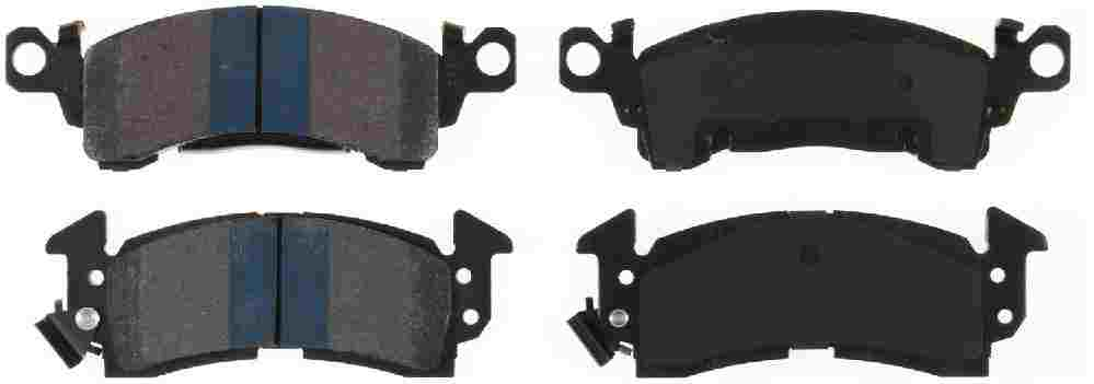 BENDIX - Semi-Metallic Disc Brake Pad (Front) - BEN MKD52S