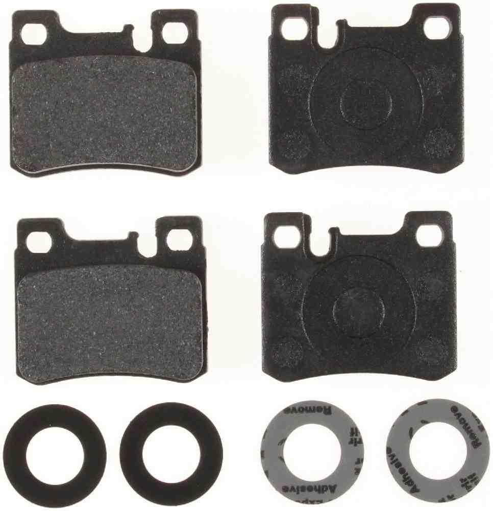 BENDIX - Premium Semi-Metallic Disc Brake Pad (Rear) - BEN MKD620IQ