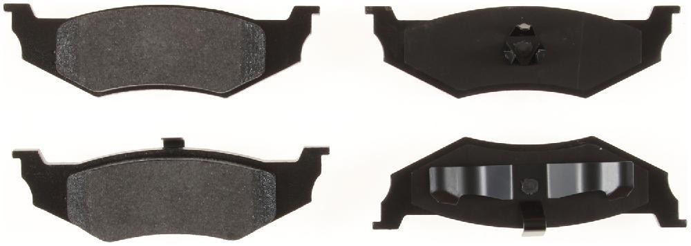 BENDIX - Bendix Semi-Metallic Disc Brake Pad (Rear) - BEN MKD641
