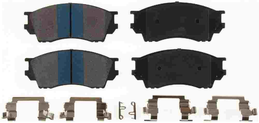 BENDIX - Bendix TitaniuMetallic II Disc Brake Pad (Front) - BEN MKD643