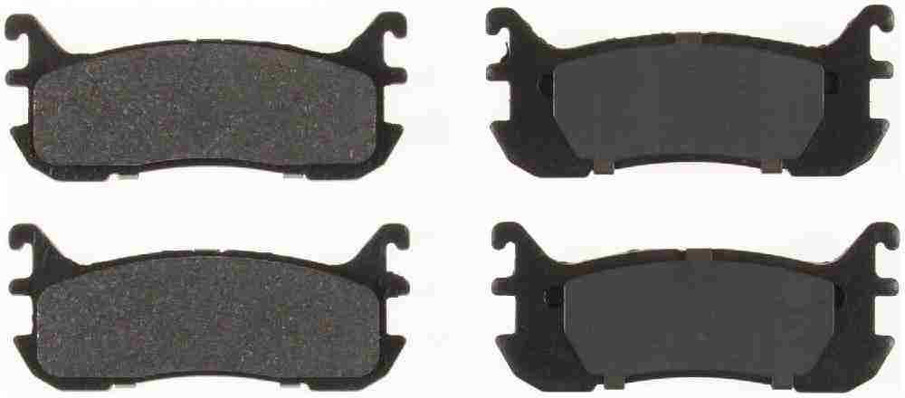 BENDIX - Bendix Semi-Metallic Disc Brake Pad (Rear) - BEN MKD663