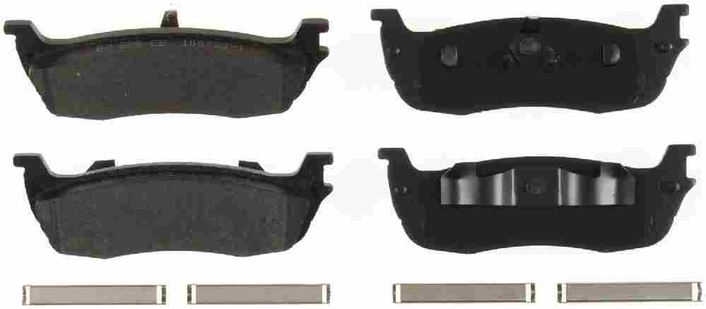 BENDIX - Bendix Semi-Metallic Disc Brake Pad (Rear) - BEN MKD664