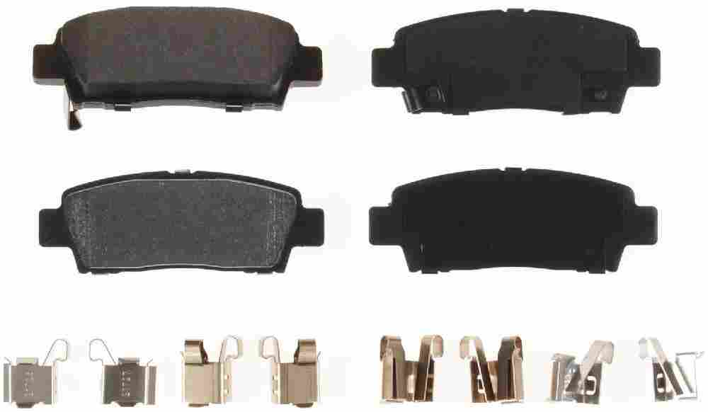 BENDIX - Bendix Semi-Metallic Disc Brake Pad (Rear) - BEN MKD672