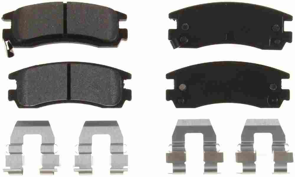 BENDIX - Bendix Semi-Metallic Disc Brake Pad (Rear) - BEN MKD698