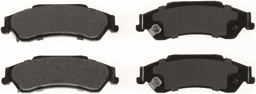BENDIX - Bendix Semi-Metallic Disc Brake Pad (Rear) - BEN MKD729