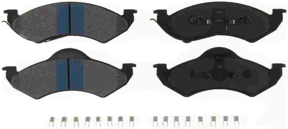 BENDIX - Bendix TitaniuMetallic II Disc Brake Pad (Front) - BEN MKD746