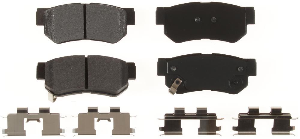 BENDIX - Bendix Semi-Metallic Disc Brake Pad (Rear) - BEN MKD813