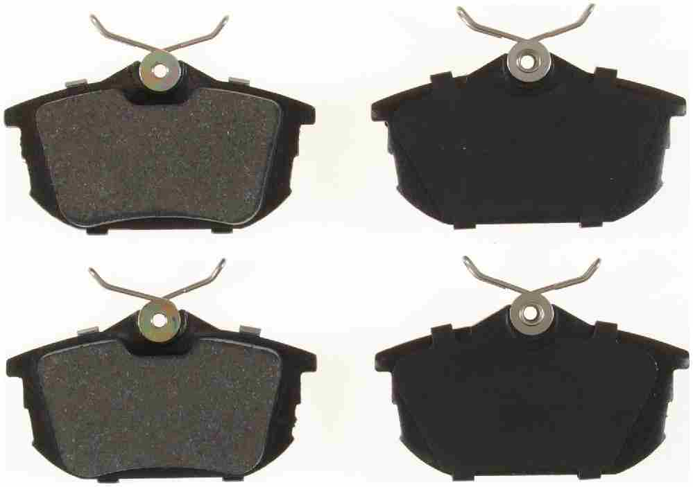 BENDIX - Bendix Semi-Metallic Disc Brake Pad (Rear) - BEN MKD838