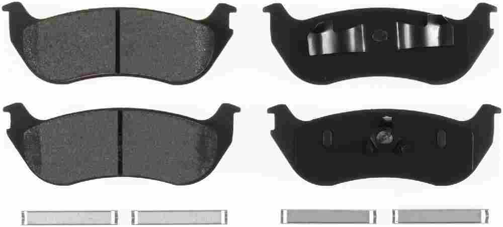 BENDIX - Bendix Semi-Metallic Disc Brake Pad (Rear) - BEN MKD881
