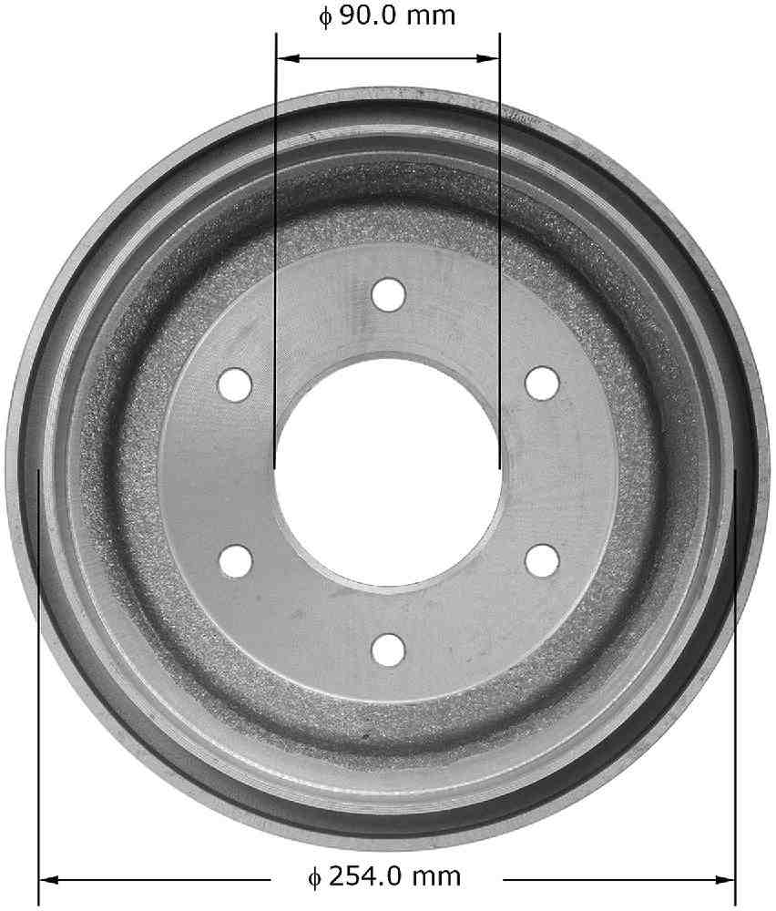 BENDIX - Premium Brake Drum - BEN PDR0374