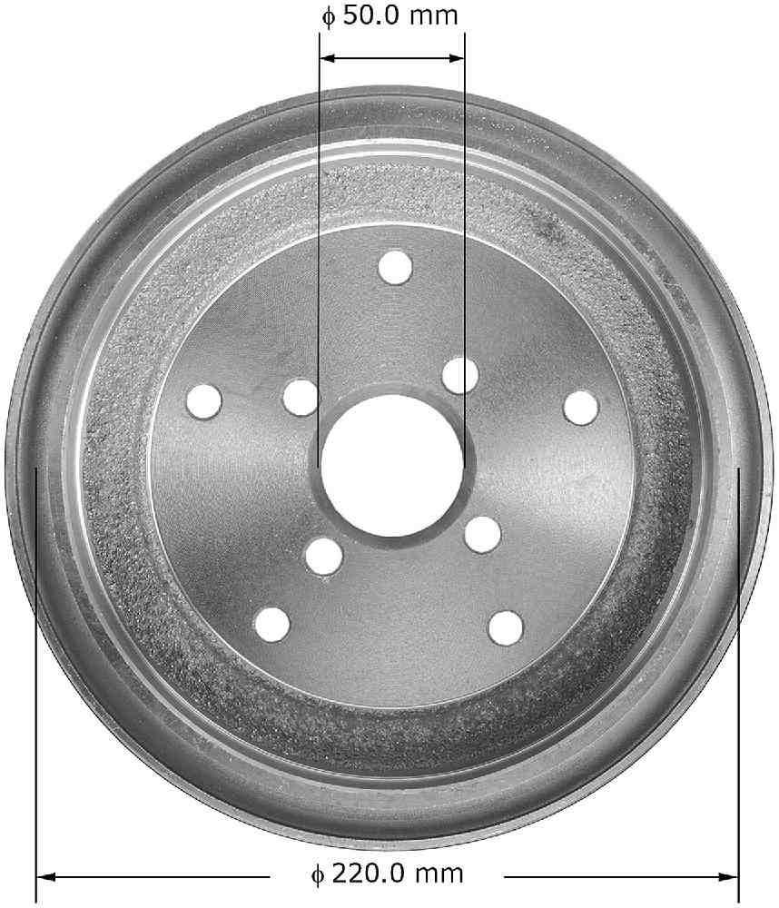 BENDIX - Premium Brake Drum (Rear) - BEN PDR0544