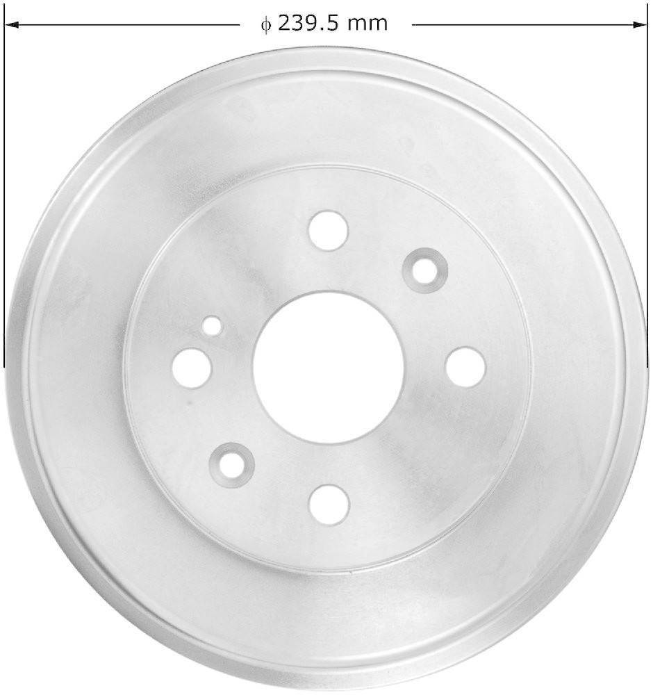 BENDIX - Premium Brake Drum (Rear) - BEN PDR0842