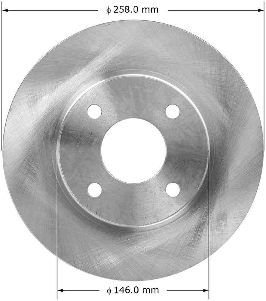 BENDIX - Premium Brake Rotor (Front) - BEN PRT5273
