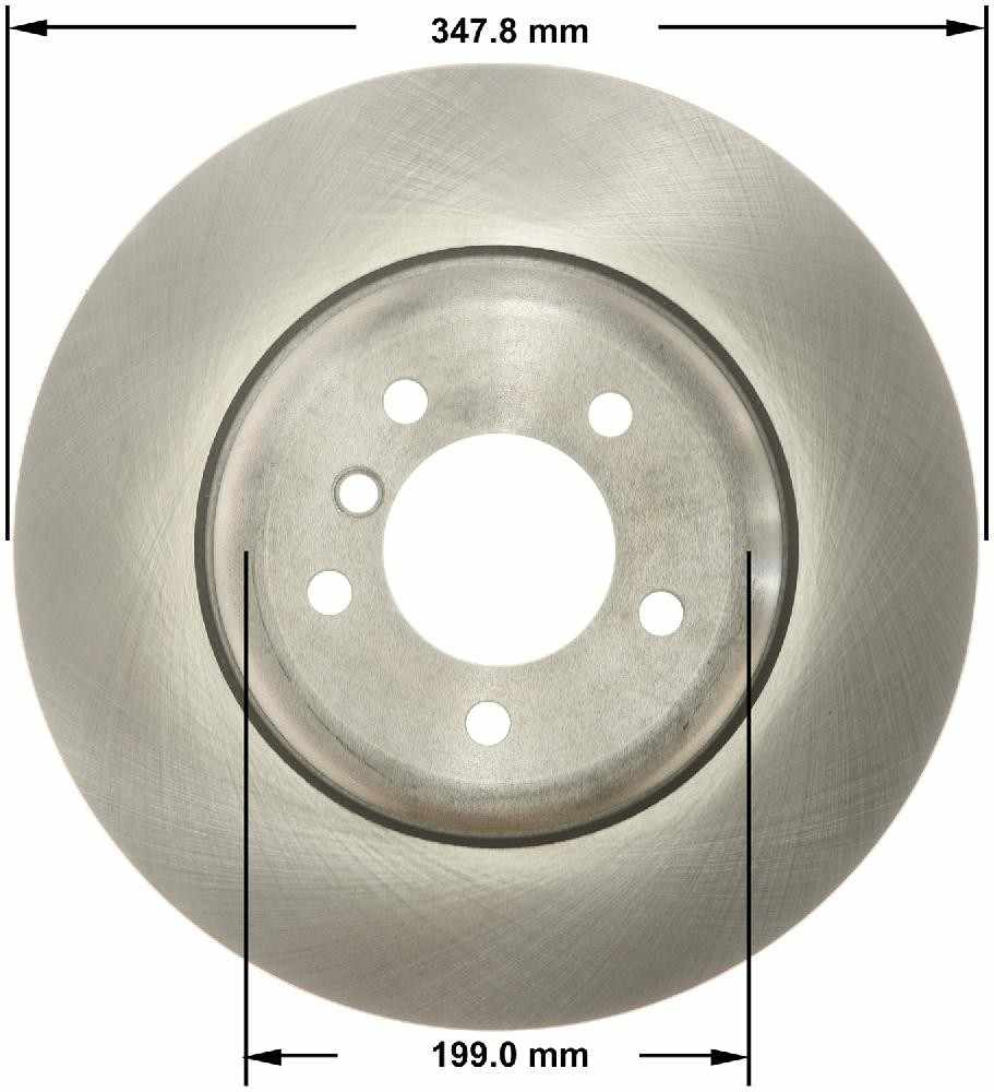 BENDIX - Premium Brake Rotor - BEN PRT5821