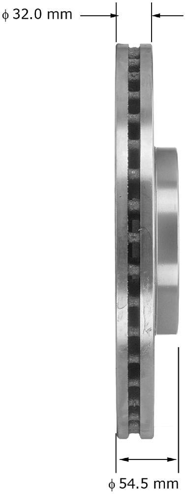 K Belt Cross Section 28.25 Length Rubber D/&D PowerDrive 8941374780 Isuzu Motors Replacement Belt