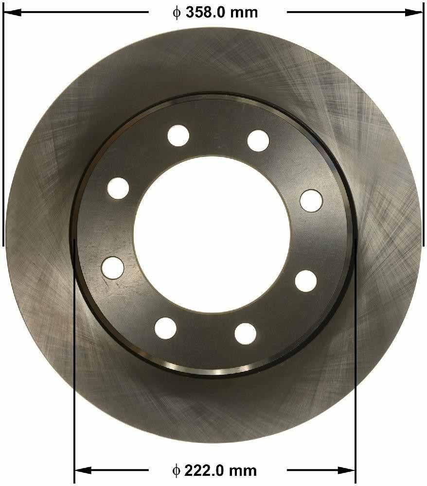 BENDIX - Premium Brake Rotor (Rear) - BEN PRT5910
