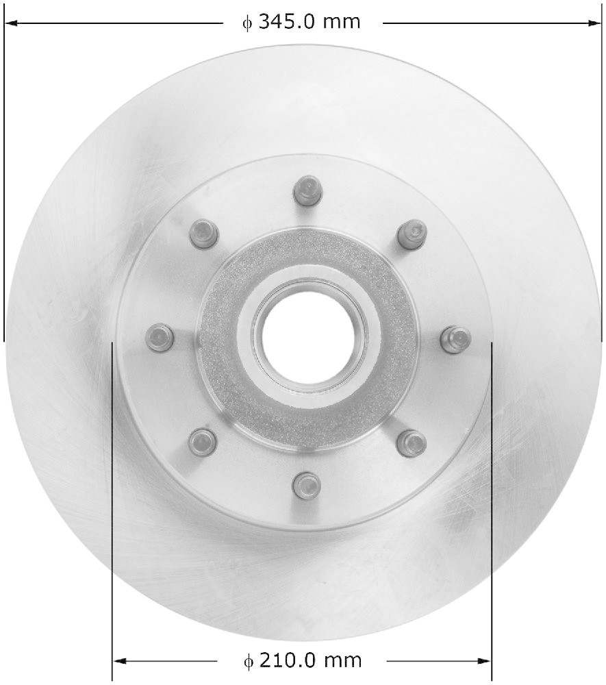 BENDIX - Premium Brake Rotor (Front) - BEN PRT5915